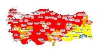 Güncel Türkiye risk haritası açıklandı! Yeni tedbirler ne zaman uygulanacak?