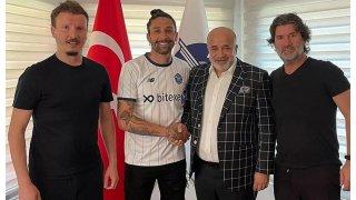 Lucas Castro resmen Adana Demirspor'da...
