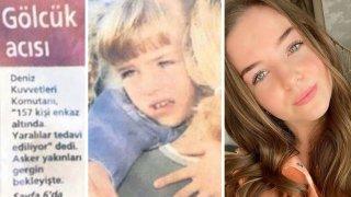 17 Ağustos Gölcük Depremi'nde göçük altından çıkarılan o küçük kız büyüdü ve ünlü bir oyuncu oldu