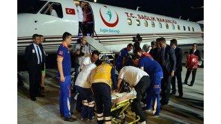 Yaralı Arnavut kadın polis Türk hekimlerine emanet