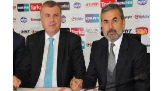 İmzalar atıldı... Aykut Kocaman resmen Konyaspor'da...