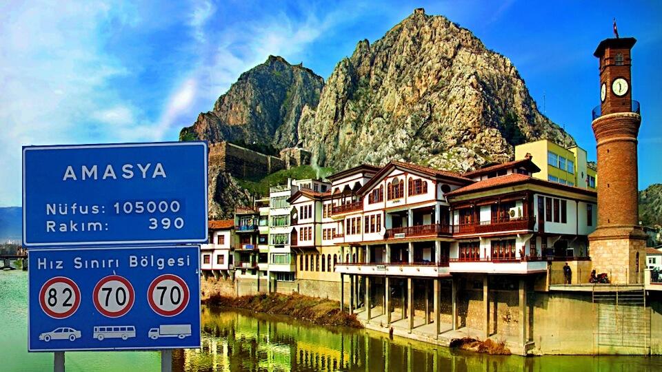 Amasya'da mutlaka gezmeniz gereken doğal ve tarihi güzellikler...