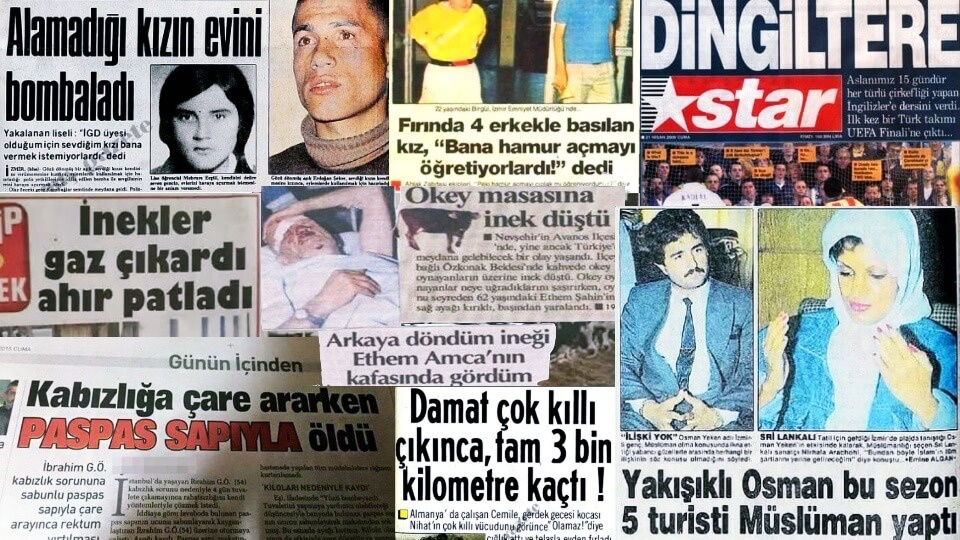 Türkiye'de yaşanmış en komik haberler