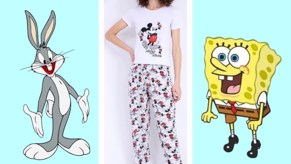 Pijamasını bulsam kesin alırım diyeceğiniz 10 çizgi film karakteri
