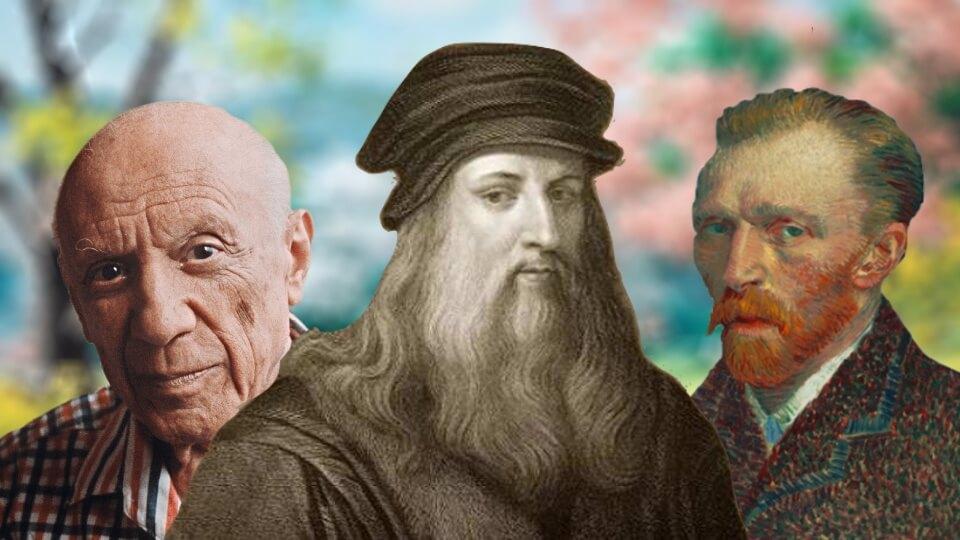 Tabloları milyon dolarlara alıcı bulan dünyanın en ünlü 10 ressamı...