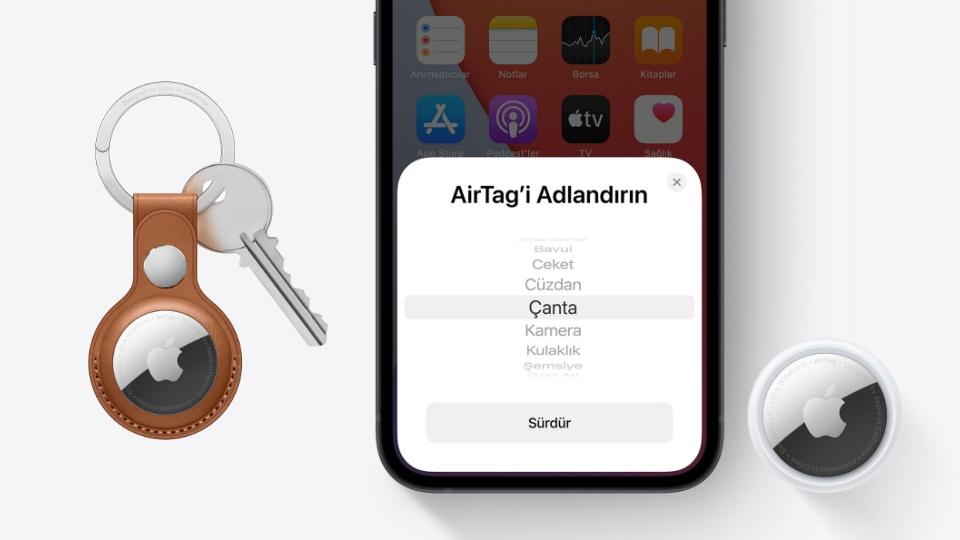 Apple AirTag nedir? İşte AirTag'in özellikleri ve Türkiye fiyatı...
