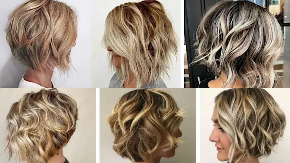 Dalgalı saçlar için harika kısa saç modelleri!