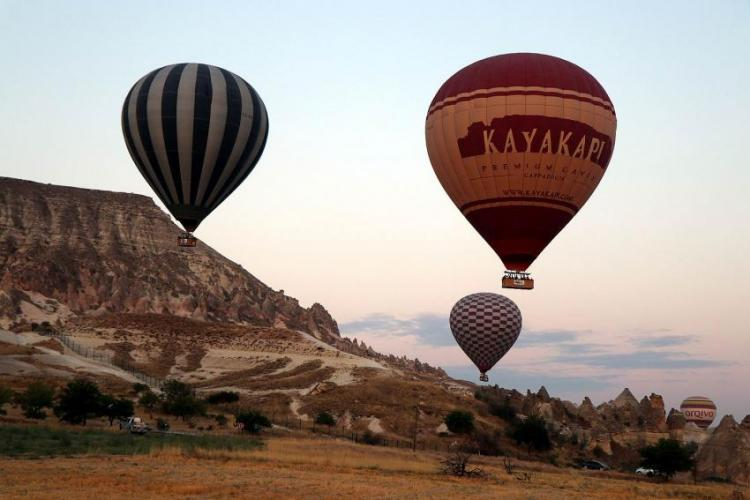 Kapadokya turizminin lokomotifi balon turları ile ekonomiye 70 milyon euro katkı sağlandı