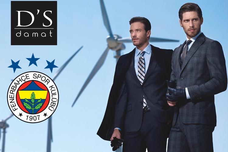 Damat Fenerbahçe'ye sponsor oldu...